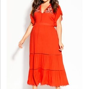 Summer Sunset Maxi Dress - tigerlily